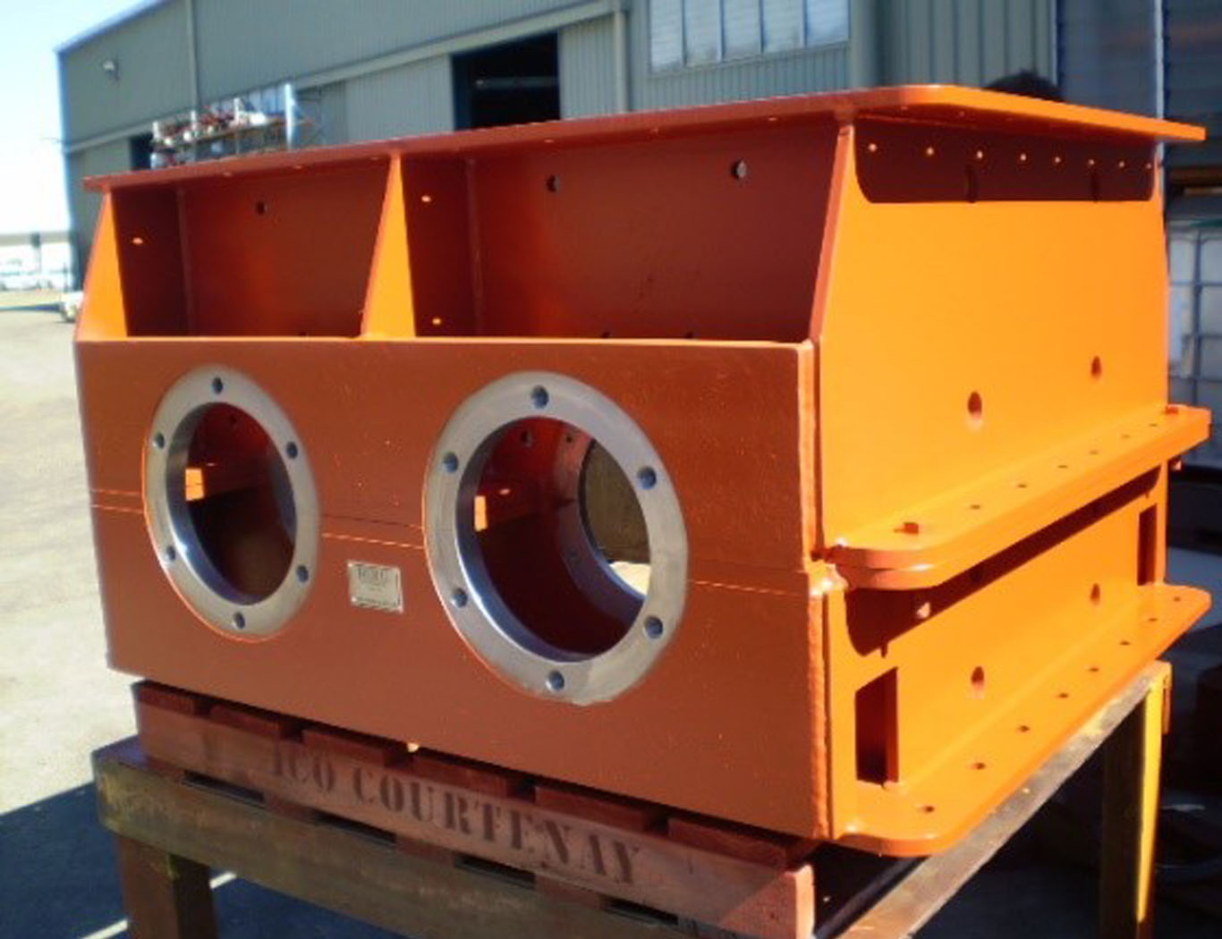 Berg Engineering - Ash Crusher 1