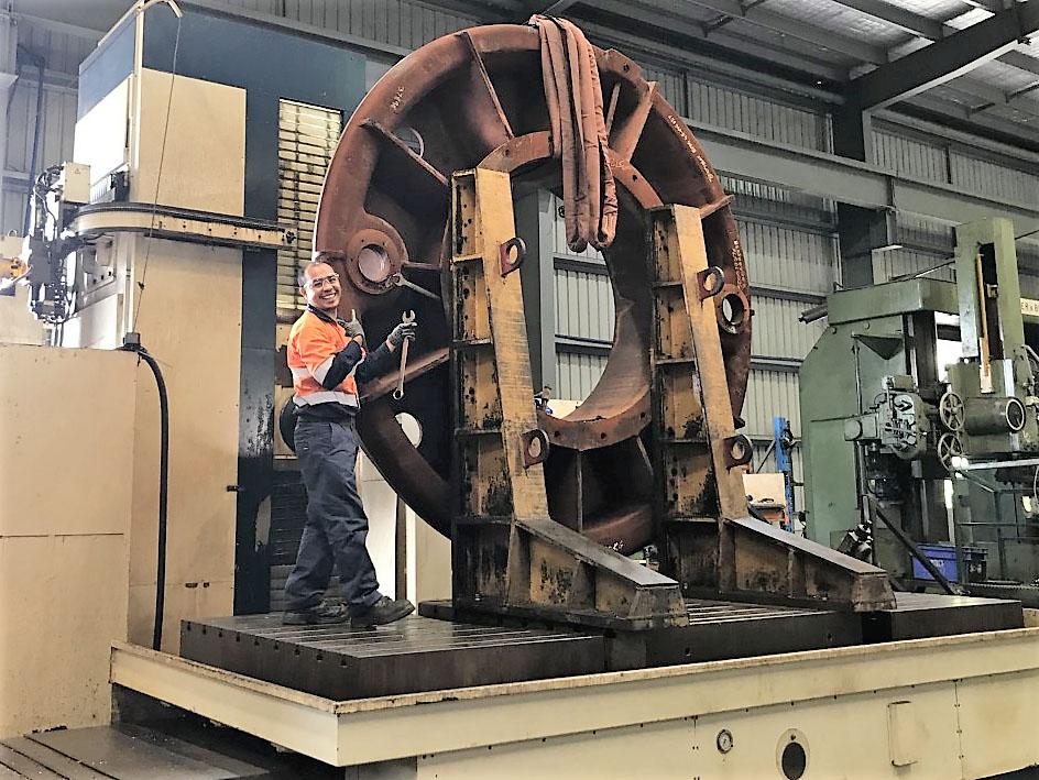 Berg Engineering Machine