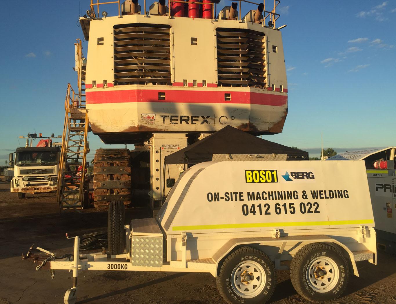 Berg Engineering - Onsite Maching 2