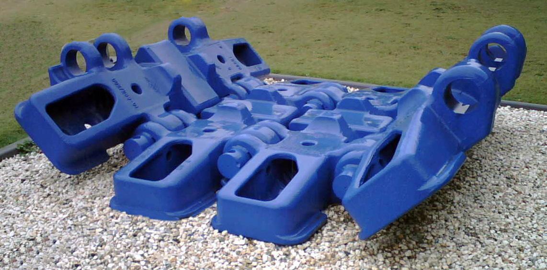 TRACK pad blue